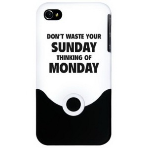 Dont-Waste-Your-Sunday-Funny-iPhone-4-Slider-Cases